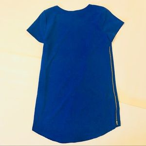 Papermoon Tops - Papermoon for Stitch Fix Electric Blue Zipper Top